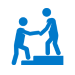 Government and not for profit services icon